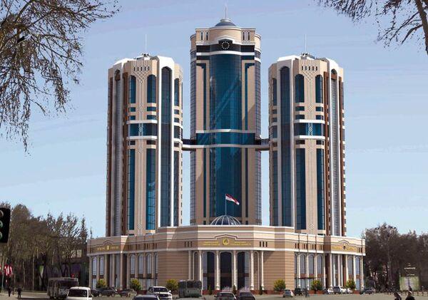 Проект небоскреба в Душанбе к 30-й годовщины Независимости  - Sputnik Узбекистан
