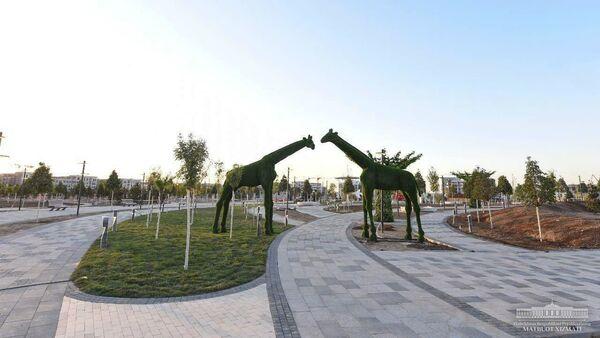 Строительство Tashkent City - Sputnik Узбекистан