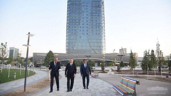 Шавкат Мирзиёев снова посетил Tashkent City - Sputnik Узбекистан