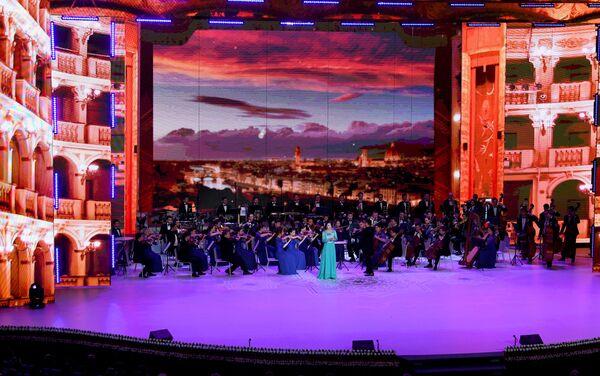 Помимо национальных мелодий на праздничном концерте звучала и европейская оперная классика - Sputnik Узбекистан