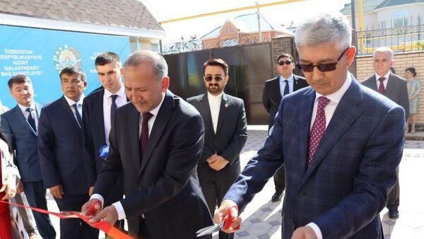 Генеральное консульство Узбекистана открылось на юго-западе Казахстана - Sputnik Узбекистан