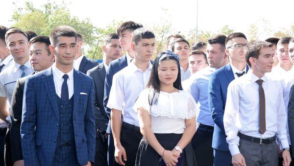 Студенты филиала НИЯУ МИФИ на торжественной церемонии открытия вуза в Ташкенте - Sputnik Узбекистан