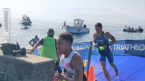 Узбекистанец принял участие в Гранд-финале по триатлону - Sputnik Узбекистан