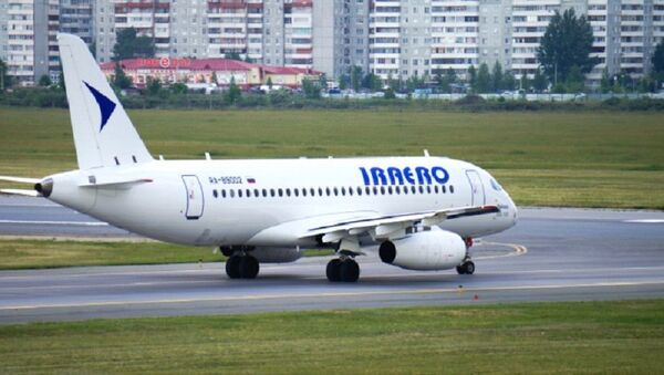 Самолет компании ИрАэро - Sputnik Узбекистан