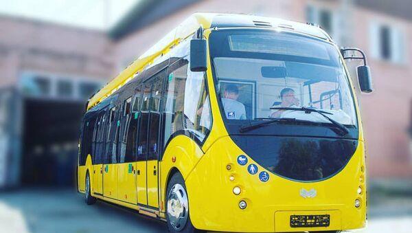 В Ташкенте будет запущен первый автобус, работающий на электричестве - Sputnik Ўзбекистон