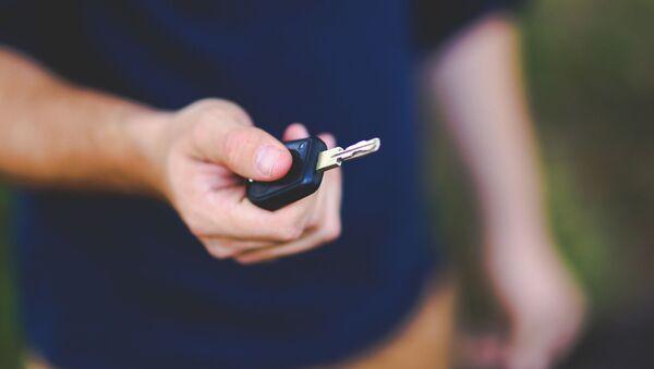 Ключи от автомобиля. Иллюстративное фото - Sputnik Узбекистан