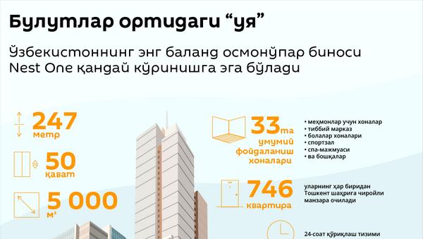 Nest One инфографика - Sputnik Ўзбекистон