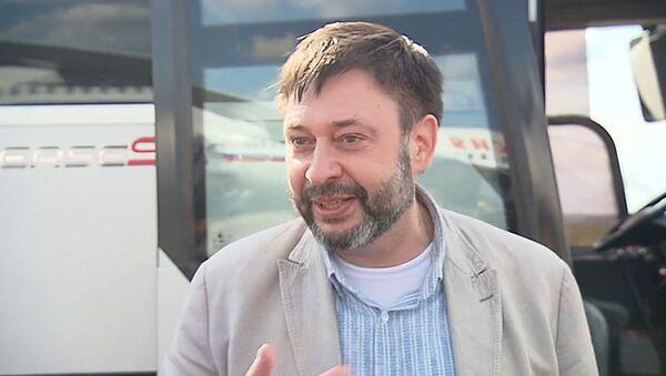 Вышинский в Москве рассказал о самочувствии и поблагодарил коллег - Sputnik Ўзбекистон