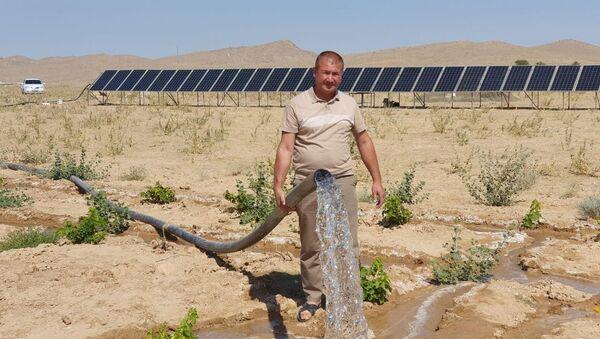 Фермеры Узбекистана начали использовать солнечную энергию - Sputnik Узбекистан