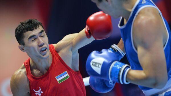 Бокс. Чемпионат мира. Мужчины. Второй день - Sputnik Узбекистан