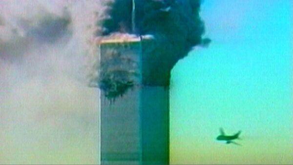 Террористический акт в Нью-Йорке 11 сентября 2001 года. Кадры из архива - Sputnik Ўзбекистон