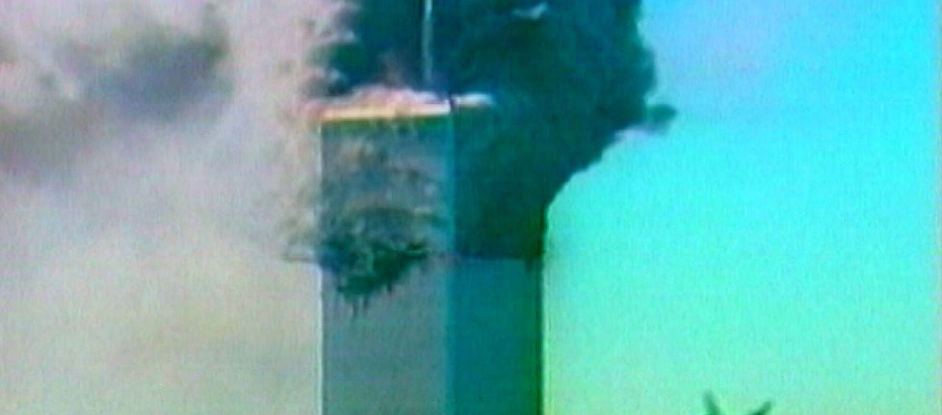 Террористический акт в Нью-Йорке 11 сентября 2001 года. Кадры из архива - Sputnik Узбекистан, 1920, 11.09.2019