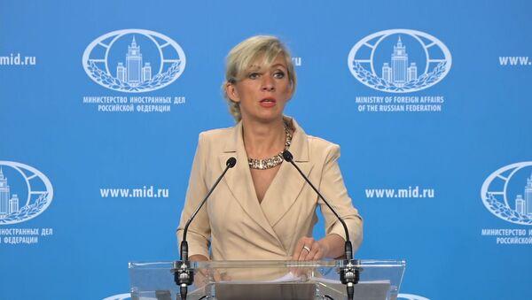 Захарова: США превращают космос в новое поле военных действий - Sputnik Ўзбекистон