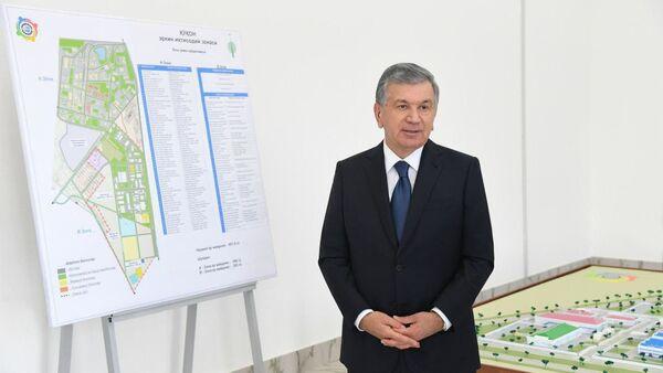 Shavkat Mirziyoyev v Fergane - Sputnik Oʻzbekiston