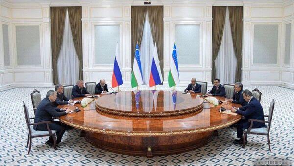 Президент Узбекистана принял председателя Государственной думы России - Sputnik Ўзбекистон
