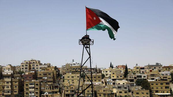 Флаг королевства Иордан - Sputnik Ўзбекистон