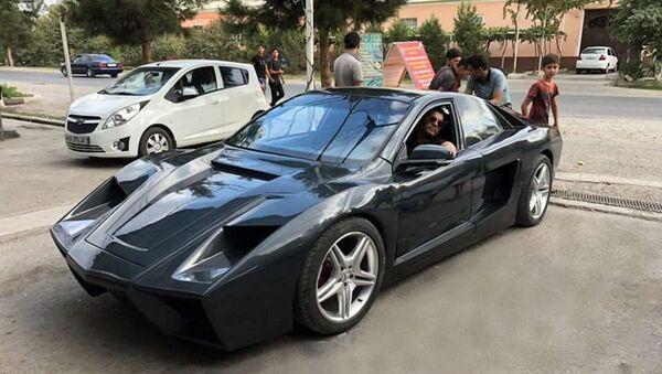 Парень из Маргилана превратил свой Lacetti в Ferrari - Sputnik Ўзбекистон