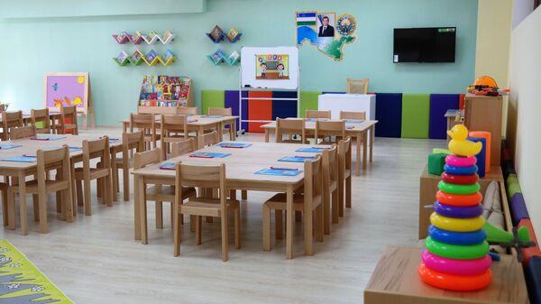 Новый детский сад открыли в Сергелийском районе Ташкента - Sputnik Ўзбекистон