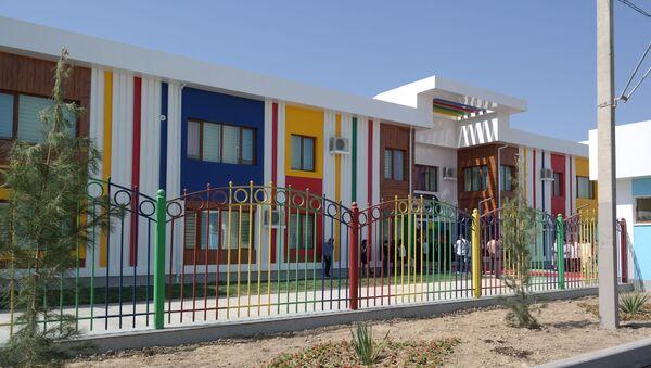 Новый детский сад открыли в Сергелийском районе Ташкента  - Sputnik Узбекистан