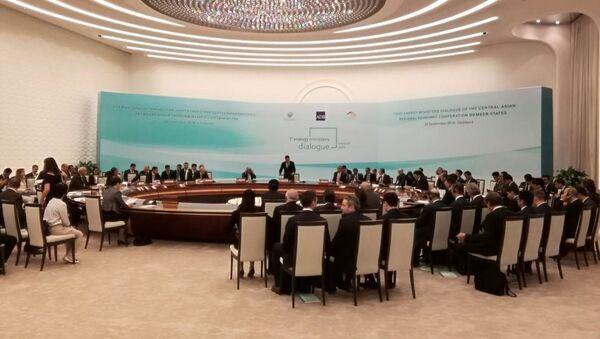 Ministrы energetiki stran TSARES vstretilis v Tashkente - Sputnik Oʻzbekiston