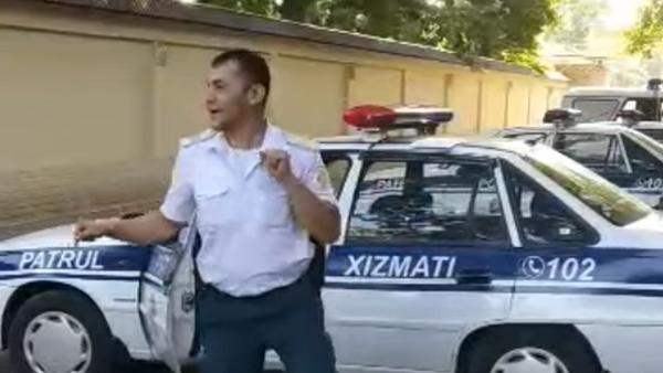 Tanets sotrudnika GUVD nabral 2,5 tыsyachi laykov - Sputnik Oʻzbekiston