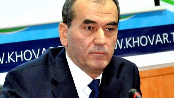 Usmonali Usmonzoda, ministr energetiki i vodnыx resursov Tadjikistana - Sputnik Oʻzbekiston