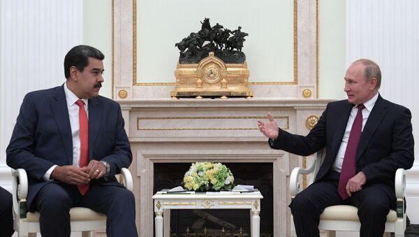 Vstrecha prezidenta RF V. Putina s  prezidentom Venesuelы N. Maduro - Sputnik Oʻzbekiston