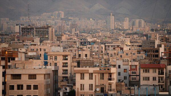 Вид на один из кварталов Тегерана - Sputnik Узбекистан