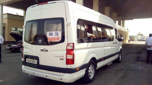 Микроавтобус Анжижан - Ош - Sputnik Узбекистан