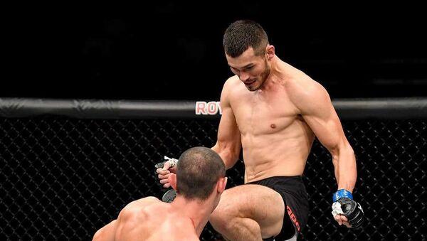 Pervыy boy Maxmuda Muradova v UFC - Sputnik Oʻzbekiston