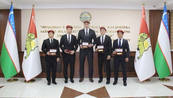 Natsgvardiya nagradila sportsmenov - Sputnik Oʻzbekiston