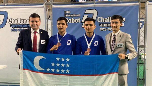Robototexniki Uzbekistana zavoyevali bronzu - Sputnik Oʻzbekiston