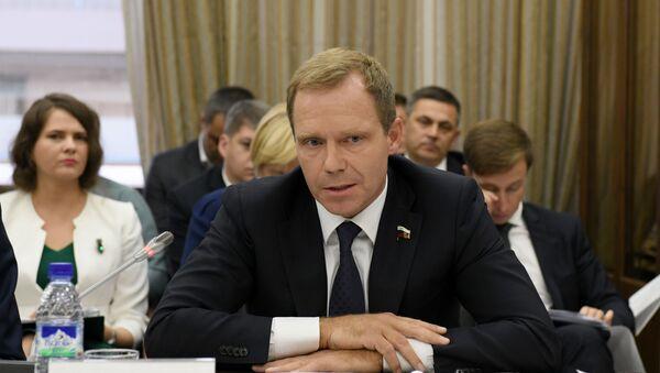 Член Совета Федерации РФ от Заксобрания Санкт-Петербурга Андрей Кутепов - Sputnik Узбекистан
