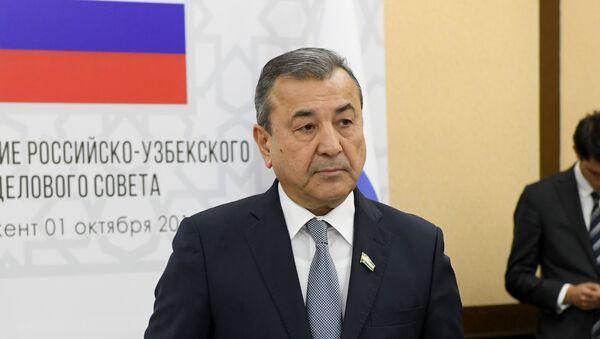 Первый заместитель председателя Сената Олий Мажлис Садык Сафаев - Sputnik Узбекистан