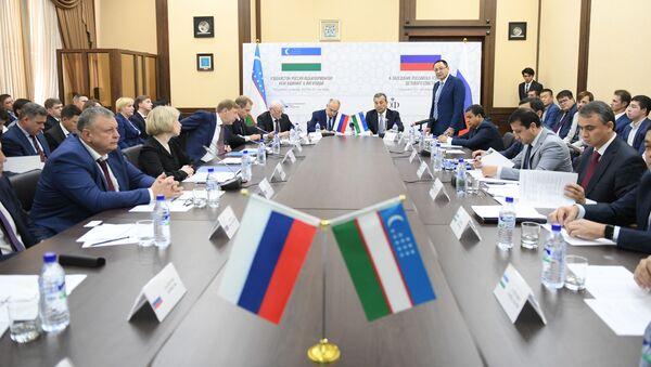 Chetvertoye zasedaniye uzbeksko-rossiyskogo Delovogo soveta v Tashkente - Sputnik Oʻzbekiston