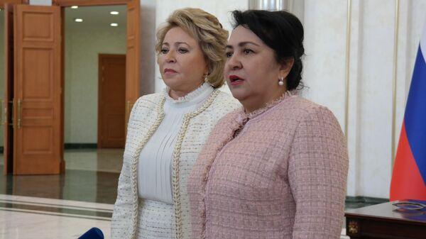 Валентина Матвиенко и Танзила Нарбаева  - Sputnik Узбекистан