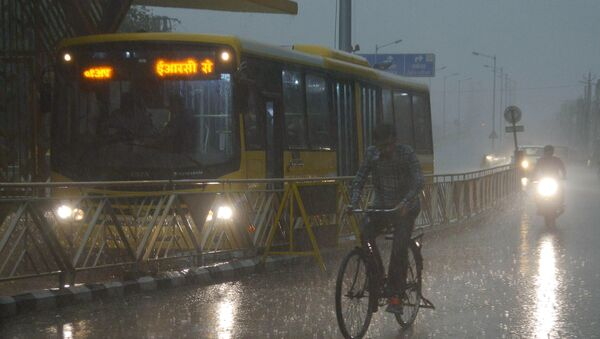 Дожди в Индии - Sputnik Узбекистан