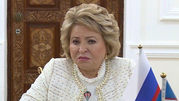 Mudroye resheniye: Matviyenko o reshenii Uzbekistana vstupit v YEAES - Sputnik Oʻzbekiston