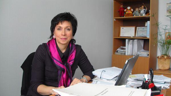 Исполнительный директор НП «Аптечная гильдия» и союза «Национальная фармацевтическая палата» Елена Неволина - Sputnik Узбекистан