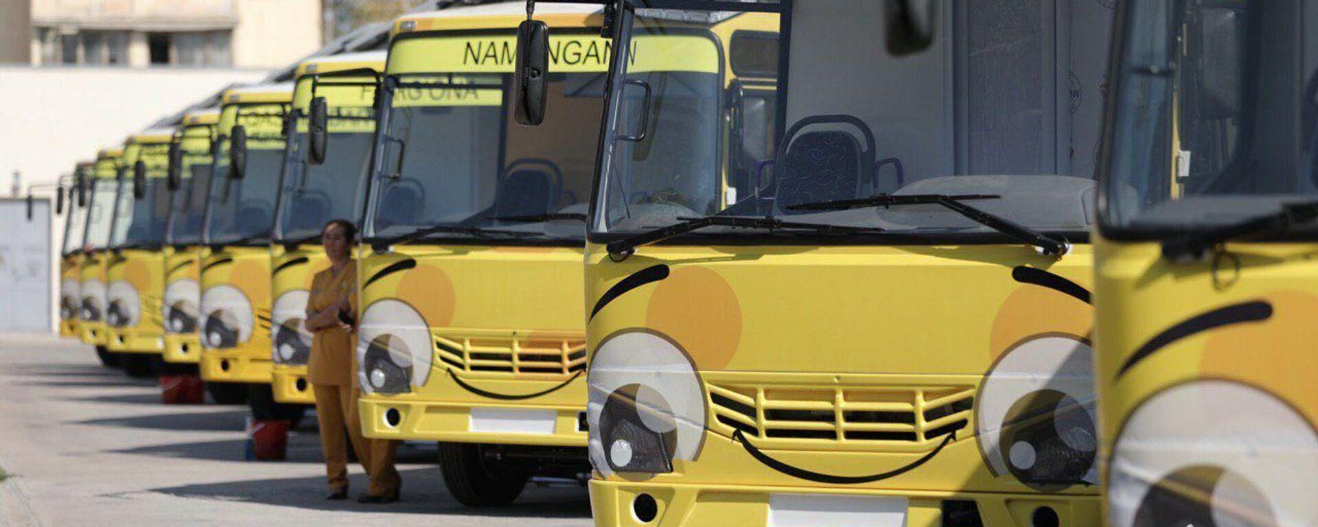 Министерство дошкольного образования презентовало детские сады на колесах - Sputnik Узбекистан, 1920, 06.08.2021