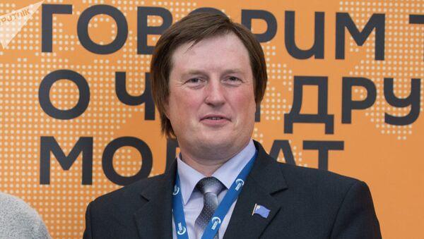 Директор Центра евразийских исследований имени Вернадского кандидат исторических наук Олег Лушников - Sputnik Узбекистан