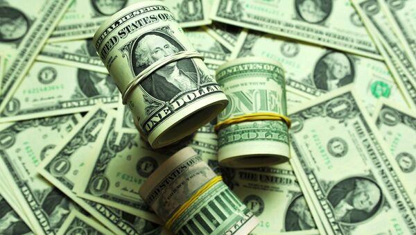 Banknotы nominalom 1 dollar SSHA - Sputnik Oʻzbekiston
