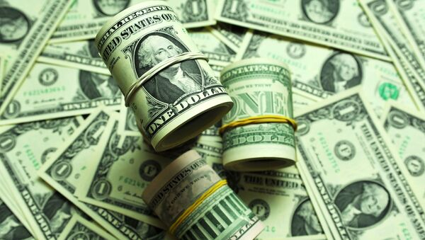 Банкноты номиналом 1 доллар США - Sputnik Ўзбекистон