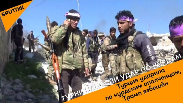 Турция ударила по курдским ополченцам, Трамп взбешен - Sputnik Ўзбекистон