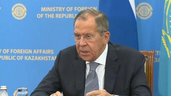Lavrov rasskazal, chto dumayet o deystviyax Trampa v Sirii - Sputnik Oʻzbekiston