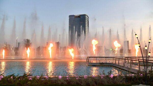 Строительство конгресс-холла и отеля Hilton - первых объектов международного делового центра Tashkent City - завершено. - Sputnik Ўзбекистон