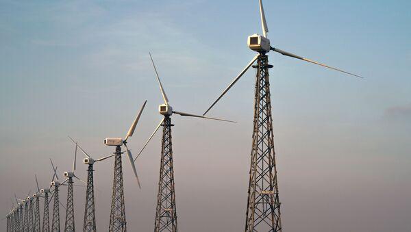 Ветряные электростанции - Sputnik Ўзбекистон