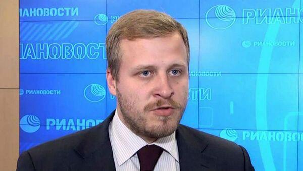 Заместитель директора Института энергетики и финансов РФ Алексей  Белогорьев   - Sputnik Узбекистан