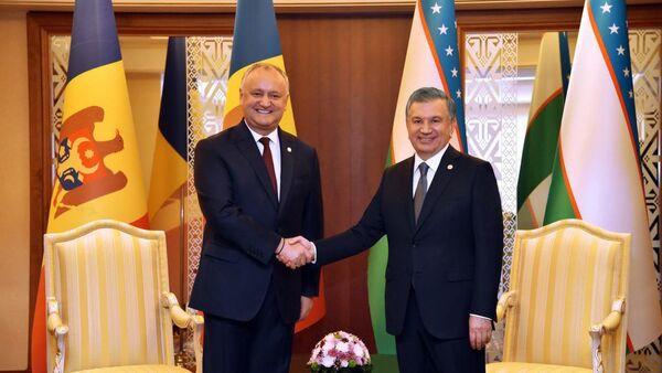 Shavkat Mirziyoyev vstretilsya s Igorem Dodonom - Sputnik Oʻzbekiston