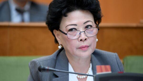Министр ДОУ Узбекистана Агрипина Шин - Sputnik Узбекистан